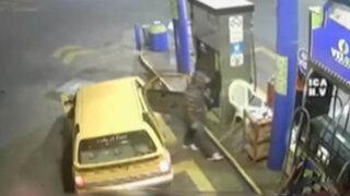 Ica: ladrones fuertemente armados asaltan grifo por cuarta vez