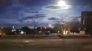 VIDEO: policía asegura haber grabado un supuesto meteorito en Estados Unidos