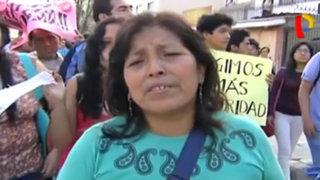 Universidad San Marcos: alumnos y vecinos exigen mayor seguridad