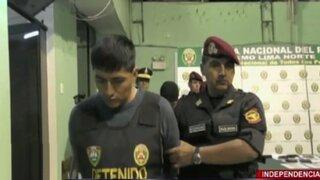 Capturan a ladrones en falso taxi colectivo en Independencia