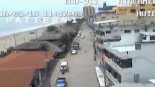 Aparecen nuevas imágenes del último sismo en Ecuador