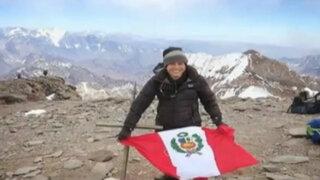 Nepal: montañista peruana alcanza la cima del Everest
