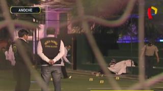 Desconocidos acribillan a jóvenes en cancha de fulbito en el Callao