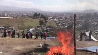 Huancayo: comuneros e invasores se enfrentan por terreno