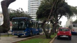 Corredor Azul: habló el chofer de bus que invadió ciclovía