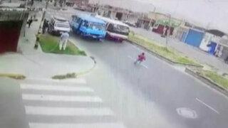 Tacna: niño muere tras ser arrollado por cúster