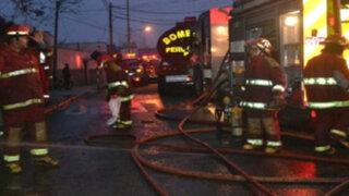 Incendio en vivienda alarmó a vecinos de Breña