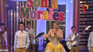 Sonia Morales puso a bailar a todos en Porque Hoy es Sábado con Andrés