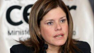 Mercedes Aráoz aclara que no pidió disculpas por el 'baguazo'