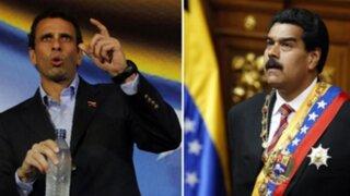 """Capriles a Maduro: """"Sabes que el revocatorio significará el fin de tu gobierno"""""""