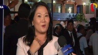 ¿Qué dijo Keiko Fujimori tras el debate presidencial?