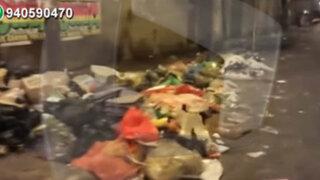 San Martín de Porres: vecinos alarmados por acumulación de basura y desmonte