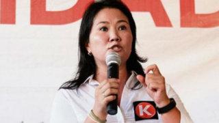 """Keiko Fujimori: """"José Chlimper será el secretario interino de Fuerza Popular"""""""