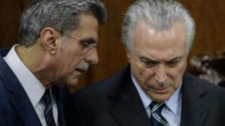 Brasil: Temer sufre la primera baja al perder a un ministro