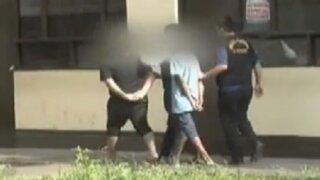 Trujillo: capturan a banda de niños 'cogoteros'