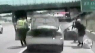 EEUU: conductora intentó evadir intervención policial