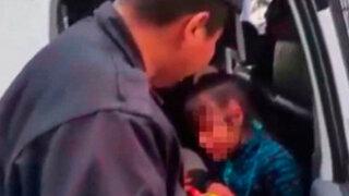 Chorrillos: serenos intervienen bruscamente a niña vendedora