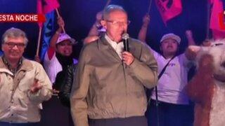 PPK ofreció mitin partidario en San Miguel
