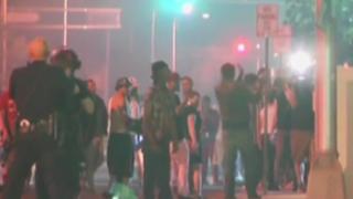 EEUU: violentas manifestaciones contra Trump en Nuevo México