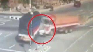 India: familia muere aplastada por dos camiones