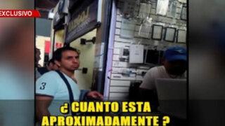 Continúa venta de celulares robados pese a operativos