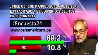 Encuesta 24: 89.2% cree que Manuel Burga debe ser extraditado a EEUU