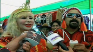 Susy Díaz fue coronada como la 'reina de la papa'