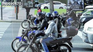 Motociclistas protestan por nueva ordenanza del municipio de Pueblo Libre
