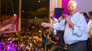 Pedro Pablo Kuczynski ofreció mitin partidario en Huaycán