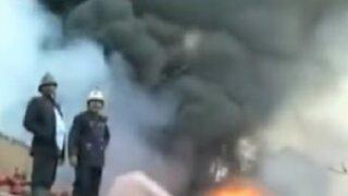 India: explosión de fábrica química dejó cinco muertos