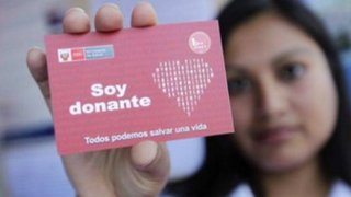 Aprueban ley que fomenta donación de órganos