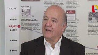 Hernando de Soto dedica libro a Pedro Pablo Kuczynski
