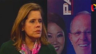 Mercedes Aráoz resalta participación de PPK en debate presidencial