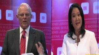 ONPE al 99.11 %: Kuczynski con 50.16% y Fujimori 49.83%