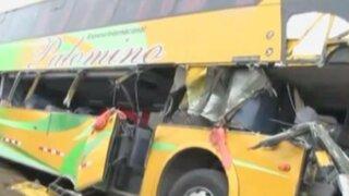 Triple choque en Cañete dejó un muerto
