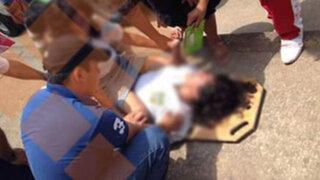 """Tarapoto: escolares convulsionan luego de  jugar """"Charlie Charlie"""""""