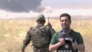 Siria: coche bomba explotó cuando reportero transmitía en vivo