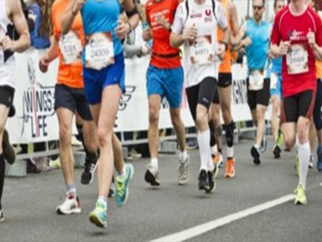 Pese al coronavirus más de nueve mil corredores participaron en la maratón de Shanghái