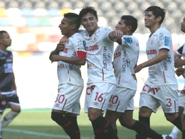 Universitario venció 3-1 a UTC con triplete de Raúl Ruidíaz