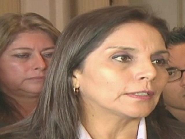 Patricia Juárez defiende ley sobre cuestión de confianza