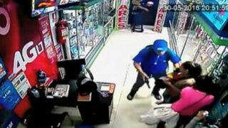Los Olivos: delincuentes asaltan casa de cambio y se llevan más de 100 mil soles