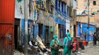 Colombia: encuentran restos de personas descuartizadas en peligroso barrio
