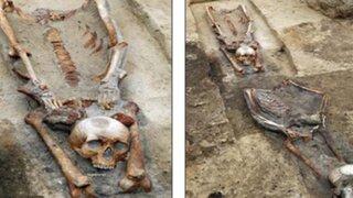 Arqueólogos descubren 'vampiros' enterrados en una antigua fosa en Polonia