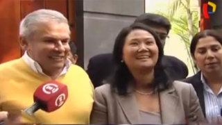 Keiko Fujimori se reúne con alcalde Luis Castañeda Lossio
