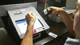 Elecciones 2016: sepa cómo usar el voto electrónico en la segunda vuelta