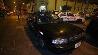 Detienen a falso taxista que intentó asaltar a joven universitaria