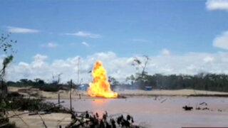 Madre de Dios: destruyen campamentos ilegales en Tambopata