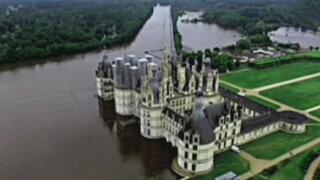 Francia: cierran museos y castillos afectados por inundaciones