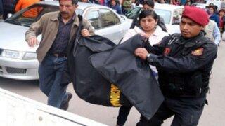 Enfrentamiento entre pandilleros y policías deja un muerto en SMP