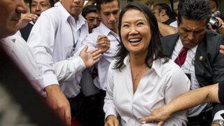 Keiko Fujimori deja casa y tomará desayuno en un restaurante de Ate
